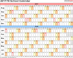 planning calendar template 2018 school calendars 2017 2018 as free printable word templates