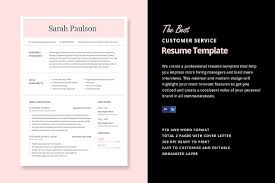 22 Best Customer Service Representative Resume Templates Wisestep