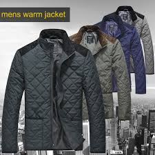 Lesmart Mens Winter Autumn Spring Cotton Padded Coat Warm Quilted ... & Lesmart Mens Winter Autumn Spring Cotton Padded Coat Warm Quilted Jacket  Lightweigh Windproof Patchwork Plus Big tall Parka -in Parkas from Men's  Clothing ... Adamdwight.com