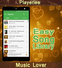 Playerlee- Music Player (MP3 player or any format) - Android Apps ...