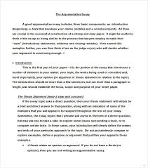 sample argumentative essay groun breaking snapshot what is an  26 sample argumentative essay practical sample argumentative essay competent concept example of essays 6 examples premium
