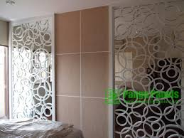 Carved wave Mdf Decorative Wall Panel Manufacturers From Foshan