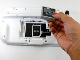 nintendo wii u gamepad analog stick replacement ifixit image 3 3 pull upwards from the bottom of the battery to release it
