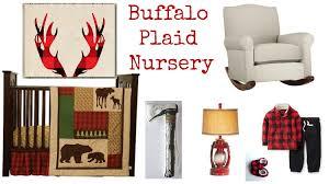 plaid nursery ideas