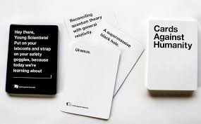 cards against humanity is an addictive card and party game for those who love playing party games the game offers an exciting gameplay and consist of a