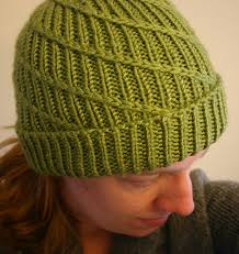 Free Knitted Hat Patterns On Circular Needles Stunning Swirl Hat Knitting Patterns In The Loop Knitting