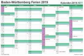 Excel Kalender Excel Kalender 2019 Kostenlos