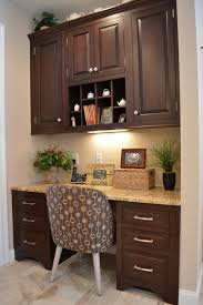 Kitchen Desk Area Classic Meets Modern Modern Custom Cabinets Ackley Cabinet Llc