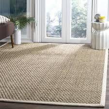 9 square rug casual natural fiber natural ivory rug 9 ft square outdoor rug