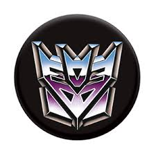 Decepticon Transformers PopSockets Grip