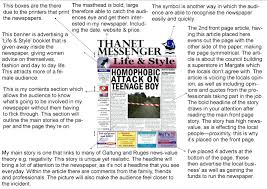 News Story Outline Template Template Newspaper Story Template Analysis Of A In The News Article