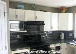 full size of black cabinets with grey backsplash kitchen countertops glamorous l shape decorating design ideas