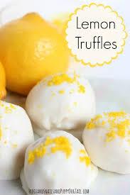 lemon truffle recipe