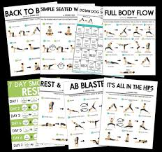 20 Minute Full Body Yoga Workout For Beginners Free Pdf