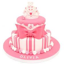 1st Birthday Cake For Baby Girl Princess