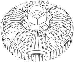 Amazon acdelco 15 4986 gm original equipment engine cooling fan clutch automotive