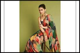 Deepika Padukone Designer Name Deepika Padukone Slays In Abstract Sabyasachi Saree During