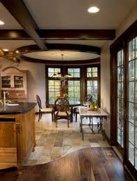 kitchen floor tiles small space: transition from tile to wood design ideas pictures remodel and decor page tom i like the thought of a transition floor to have some character instead