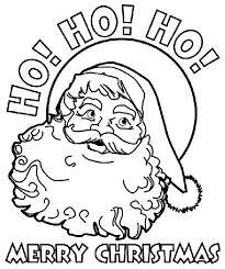 Christmas Santa Coloring Page Crayola Com Savetheoceaninfo