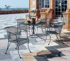 Woodard Wrought Iron Patio U0026 Garden Furniture Sets  EBayWoodard Wrought Iron Outdoor Furniture