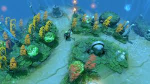the international 7 ditches dota 2 s confusing underwater map