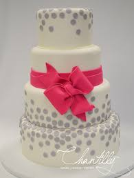 Pink Bow Quinceañera Cake Chantilly Cakes