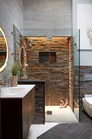 unique stacked stone shower walls fj63