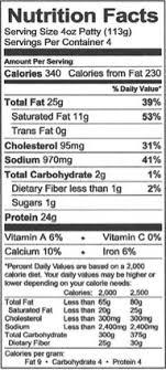 nutrition facts pizza jack s 10 jacks