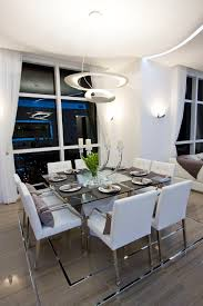 dining table candle holder dining room contemporary with miami s best interior designers white dining chair floor