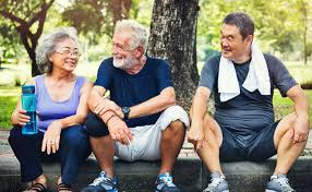 Image result for senior working out