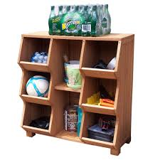 Merry Products Fir Wood 6-shelf Storage Cubby - Free Shipping Today -  Overstock.com - 13755687