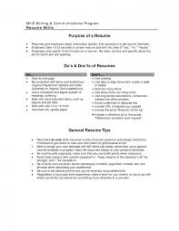 Good Resumes For Jobs Job Objectives For Resumes Examples Objective Of Resume Sports Manag 16