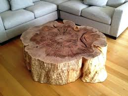 tree trunk coffee table uk for glass blacksheepdoentary com with top cfee india stump c