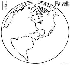 Earth Coloring Page Earth Coloring Page Coloring Pages Of Planet