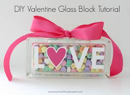 diy valentine glass block tutorial houston mommy and lifestyle blogger moms without answers