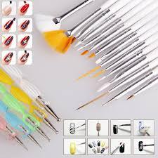 HOT! 20pcs Nail Art Design Set Dotting Painting Drawing Polish ...