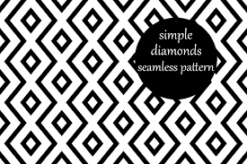 # png file svg file eps file cdr file. Simple Geometric Zig Zag Diamond Pattern Graphic By Brightgrayart Creative Fabrica