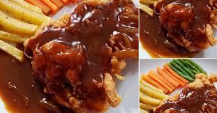 Dada ayam segar tanpa tulang merica ketumbar garam bawang putih. Steak Ayam Crispy Ala Rumahan Nggak Kalah Sama Yang Di Resto Resep Spesial