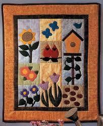 Garden of Delights Quilted Wall Hanging Pattern | HowStuffWorks & Garden of Delights Quilted Wall Hanging Adamdwight.com