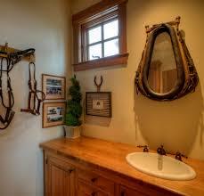 Western Rustic Decor Stylish Inspiration Western Bathroom Mirrors Vanity Barnwood Style
