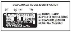 Decoding Yamaha Outboard Motor Model Number And Manufacture