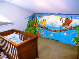 baby boy room nursery wall murals