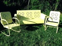 vintage iron patio furniture. Exellent Iron Vintage Metal Lawn Furniture Retro Patio  Creative Of Inside Vintage Iron Patio Furniture A