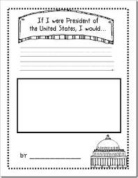 sheet fun idea for a memory book page for the kids during election season from growing kinders