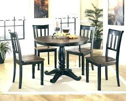 small dark wood dining table and chairs for 2 round set room tables with leaf kitchen