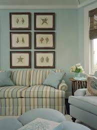 Relaxing Living Room Relaxing Living Room Using Blue Pastel Wall And Decorated With