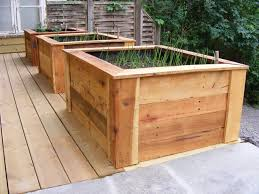 pallet wood planter. garden furniture: planters out of recycled pallet wood - guardianwitness planter