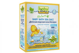 Babyline <b>Детская морская соль для</b> ванн с чередой 500 г ...