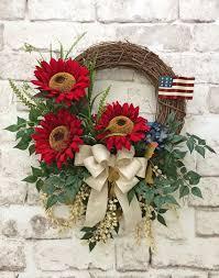 patriotic wreaths for front doorBest 25 Patriotic wreath ideas on Pinterest  4th of july wreath