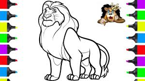 Among our drawings you will find some disney movies that were shot with real actors such as the chronicles of narnia, pirates of the caribbean and the two tron films that combine reality with animated special effects techniques. How To Draw Lion King Disney Movie Coloring Pages Draw Animals Youtube